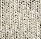 Gray Knitted Background