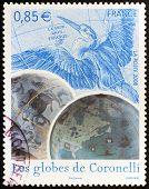 Coronelli Globes Stamp