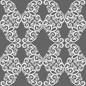Seamless Ornate Abstract Pattern (Vector)