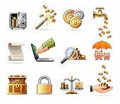 Money & Finance - Harmony icon set 08