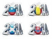 Elections In Slovenia, Romania, Scotland, Slovakia 2014