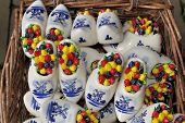 Decorated Porcelain Clogs