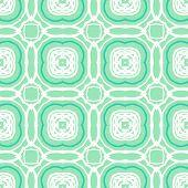 Vector mint green geometric art deco pattern