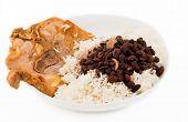 Cuban Cuisine: Pork, Rice And Black Beans Soup