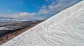 image of sakhalin  - Ski resort Mountain air Sakhalin island Russia - JPG