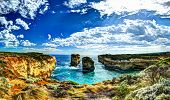 Loch Ard Gorge, Port Campbell National Park - HDR Image