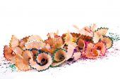 Multi-coloured Bright Sawdust