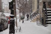 Snow Storm Shoveling