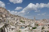 Panoramic View Of The Village Of Uchisar In Cappadocia