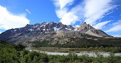 Mountain landscape, Patagonia, Argentina