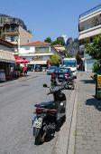 Street In The Greek Village Of Kalambaka