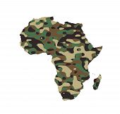 Africa - Army Camo Pattern