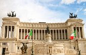 The Monument To Victor Emmanuel Ii. Piazza Venezia, Rome  , Italy