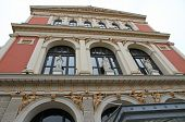 Historic Palace Musikverein In Vienna Where The World-famous New Year's Concert