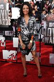 LOS ANGELES - APR 13:  Kat Graham arrives to the 2014 MTV Movie Awards  on April 13, 2014 in Los Ang