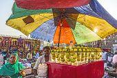 People At The Meena Bazaar