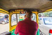 Auto Rickshaw Taxi Driver In Delhi