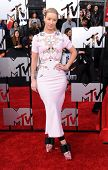 LOS ANGELES - APR 13:  Iggy Azalea arrives to the 2014 MTV Movie Awards  on April 13, 2014 in Los An