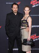 LOS ANGELES - AUG 20:  Demian Bichir & Stefanie Sherk arrives to the