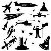 Aerospace Icon Set