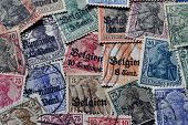 Germania stamps