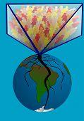 foto of overpopulation  - overpopulation - JPG