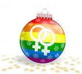 Lesbian Christmas Ball