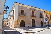 De Petris Palace. San Severo. Puglia. Italy.