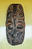 Typical Wooden Face Mask