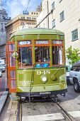 Streetcar Line St. Charles In New Orleans