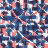 Abstract Seamless Background With Arrows