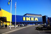 Ikea furniture retail store