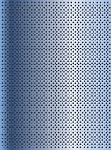 High resolution concept conceptual blue metal stainless steel aluminum perforated pattern texture mesh background