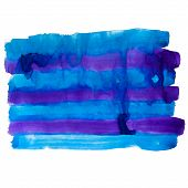 purple blue band watercolors spot blotch