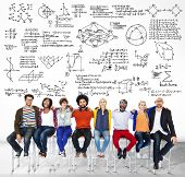 picture of mathematics  - Formula Mathematics Equation Mathematical Symbol Geometry Information Concept - JPG