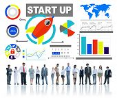 Ethnicity Business Corporate People Start up Innovation Concept