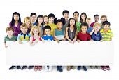 image of friendship  - Children Kids Childhood Friendship Happiness Diversity Concept - JPG