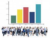 Graph Growth Success Bar Chart Concept
