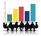 Graph Growth Success Chart Concept