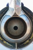 Airplane turbine blades close-up abstract texture
