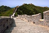 pic of qin dynasty  - This is the Jinshanling section of the Great Wall of China situated north of Beijing - JPG