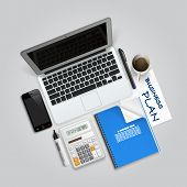 Business collage items