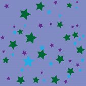 Simple abstract background with stars