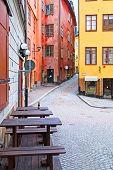 Stockholm. Sweden. Gamla Stan. Early morning