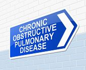 Chronic Obstructive Pulmonary Disease Concept.