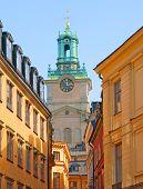 Stockholm Cathedral (Storkyrkan) in Gamla Stan (Old Town). Sweden