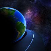 Speedy Highway Around Earth