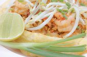 Omelet Padthai With Shrimp