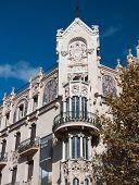 Gran Hotel in Art Nouveau or Modernista style