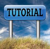 tutorial  learn online video lesson or class, website internet education